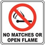 No Open Flames