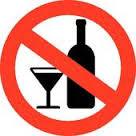 No Acohol ALlowed
