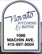 Novato Kitchens and bath logo