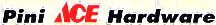 Pini ACE Hardware logo